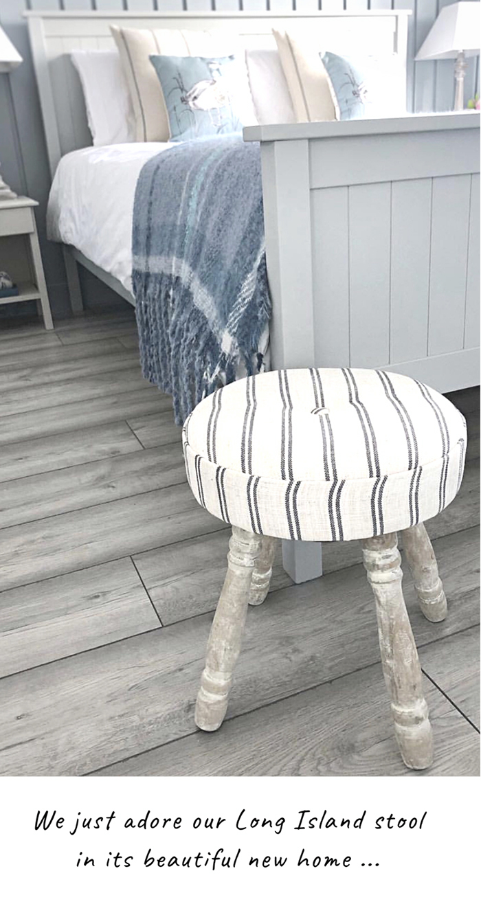Long Island foot stool for New England Country and Coastal Furniture for your home
