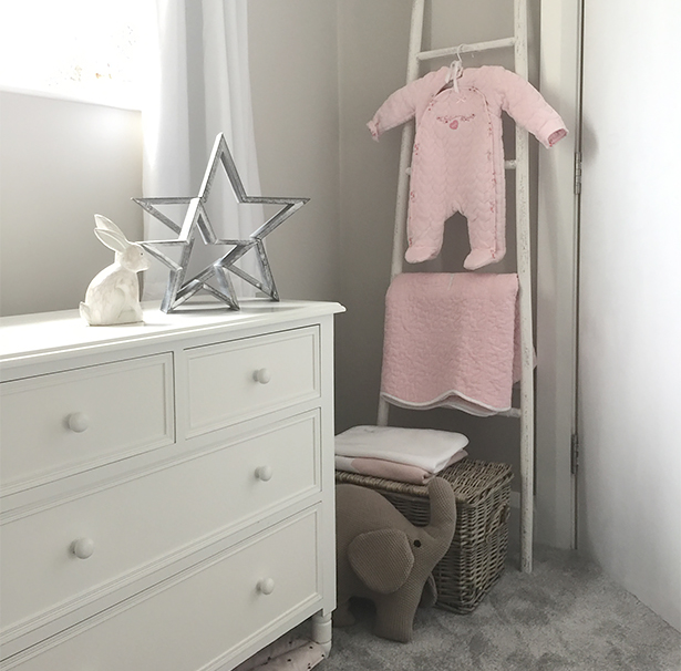 White Nursery bedroom furniture