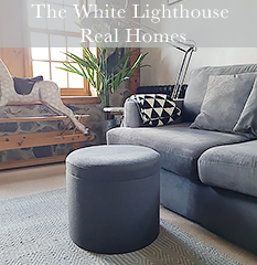 The White Lighthouse Furniture Real Homes with white New England and Coastal furniture in the home