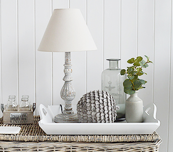 Grey Artichoke home accessories from The White Lighthouse Coastal Furniture