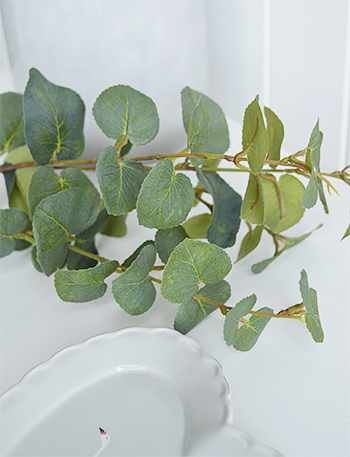 artificial Eucalyptus greenery stem spray stunning