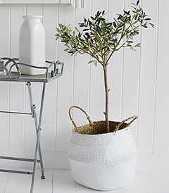 Realistic artificial olive tree