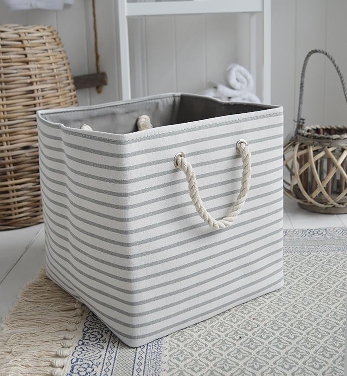 New England style storage basket