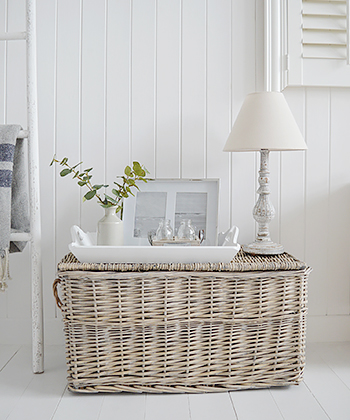 Home Decor accessories, basket lamp table