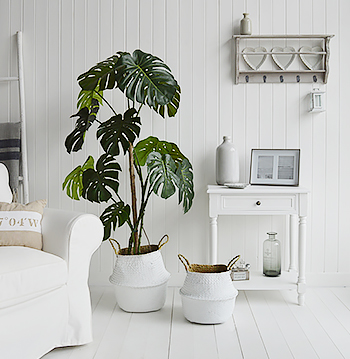 White living room idea