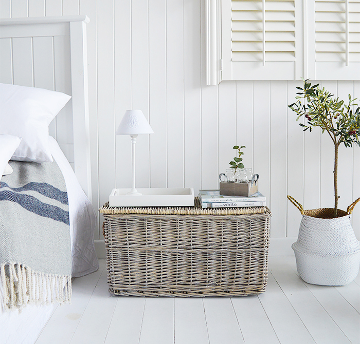 Windsor set of grey basket for everyday storage in beautiful homes