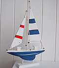 Decorative Wooden Sailing Boat