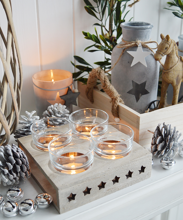 Not just for Christmas... our range of home decor are perfect for elegant Christmas decor as well and for beautiful homes year round for New England country, coastal and white home from The White Lighthouse Furniture