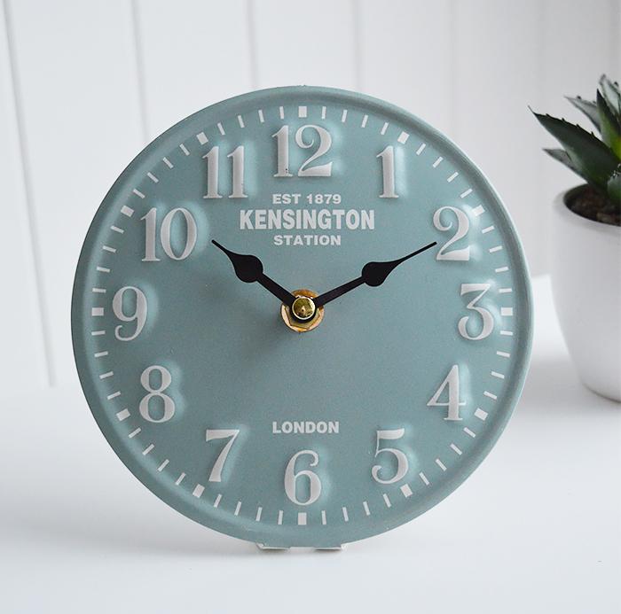 Kensington Station London Mantel Clock