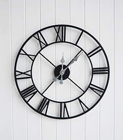 Kensington Extra large wall clock no back frame