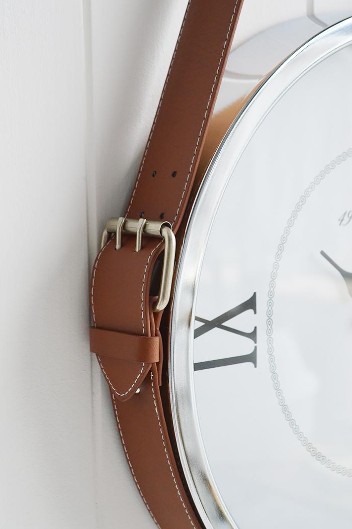 Kensington Belt Wall Clock