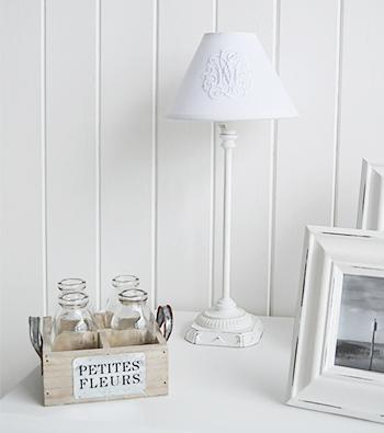 White home accessories