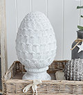 Coastal home decor accessories in  grey and white