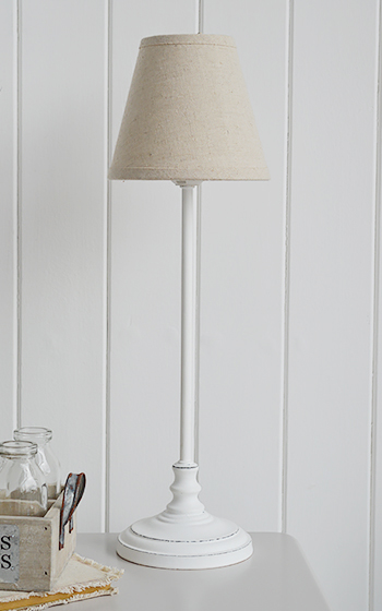 Bedside Table lamp from the White Lighthouse Bedroom Furniture