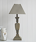 French Grey Table lamp