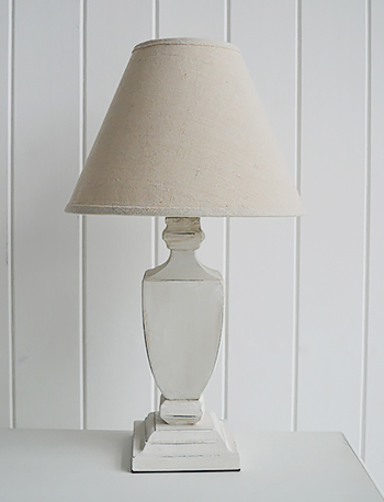 Providence bedside table lamp for cottagebedroom interiors