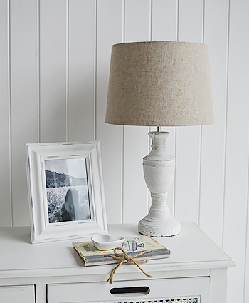 Rockport Table Lamp from The White Lighthouse Furniture