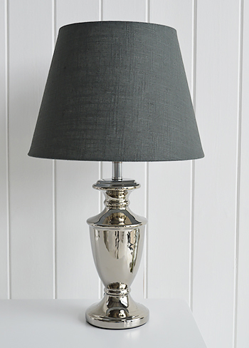 Kensington grey lamp shade