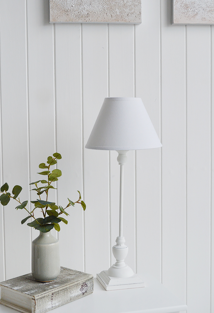Freeport White Table Lamp