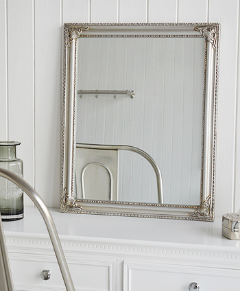 Silver dressing table mirror, ideas in decorating your bedroom