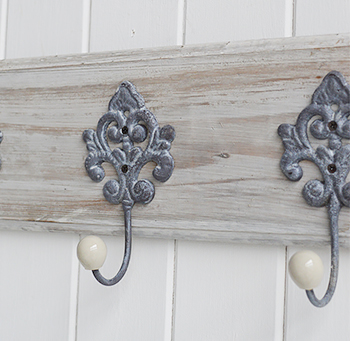 Parisian Grey vintage coat rack