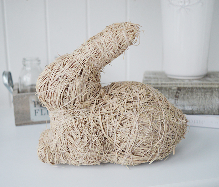 Cute decorative bunny rabbit from The White Lighthouse Furniture and Home Decor accessories