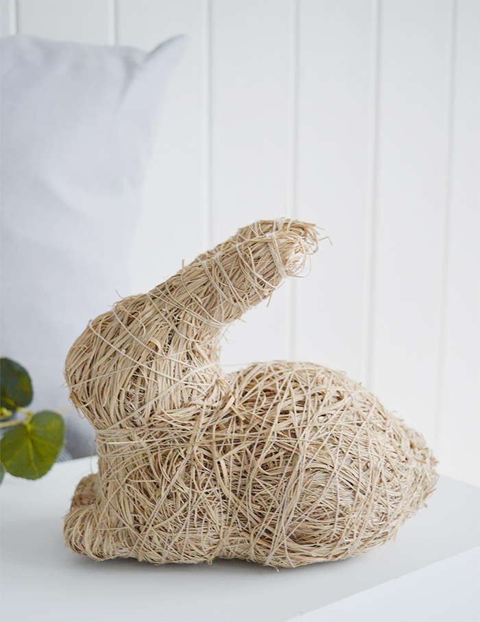 Cute little woven bunny rabbit
