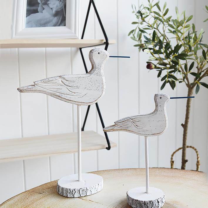 Sea Birds for coastal home decor interior accessories
