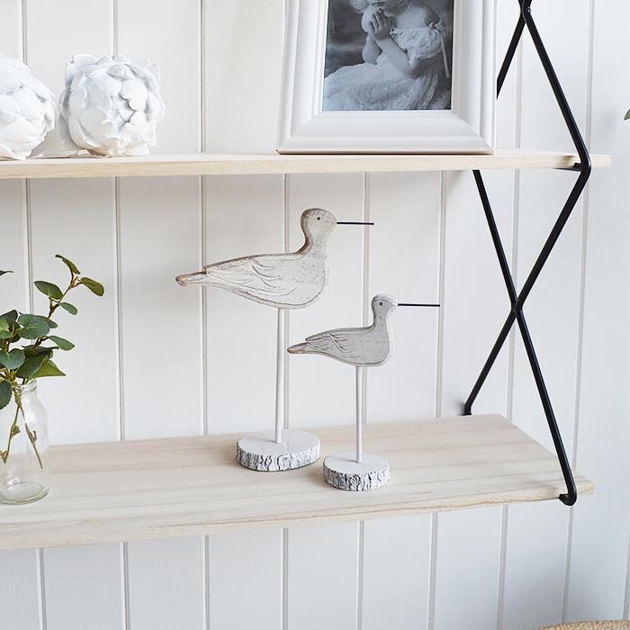 Sea Birds for coastal home decor interior accessories on a shelf