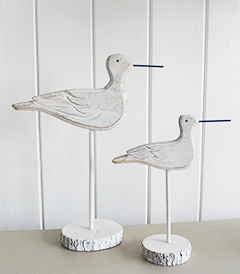 Sea Birds for coastal home decor interior accessories from The White Lighthouse Furniture
