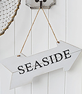 HAnging white nautical coastal accessories