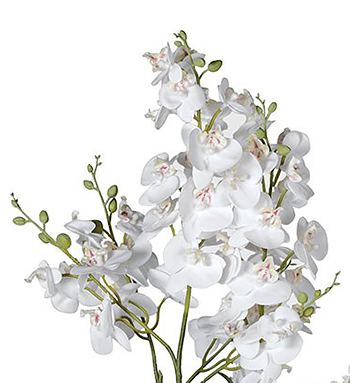 Artificail White Orchids large display