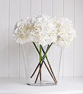 Silk Artificial Hydrangea Stem
