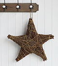 Nordic twig hanging star