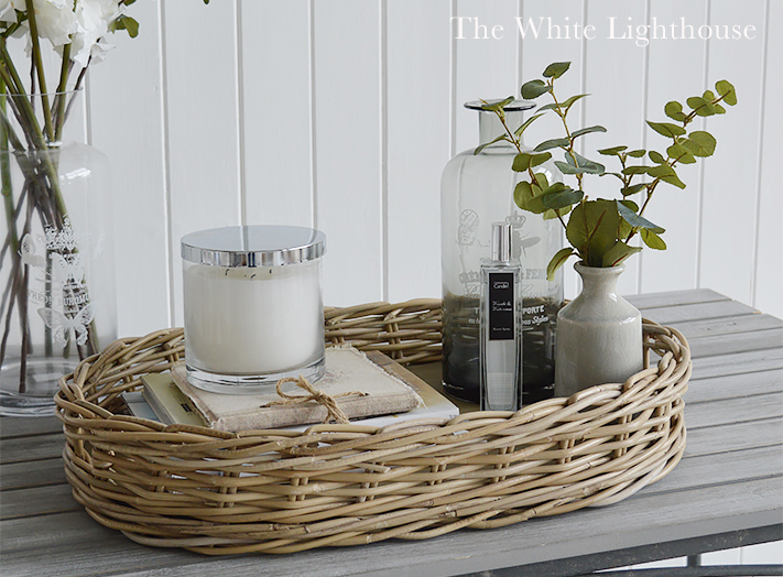 The White Lighthouse furniture - large tray with handles