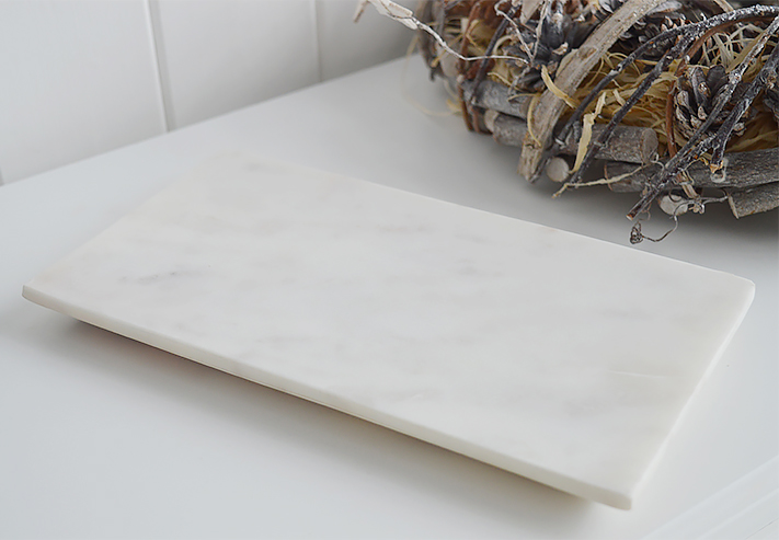 White Marble Small Tray