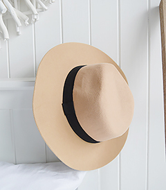 The White Lighthouse Furniture new England Lifestyle for Country and Coastal Living - classic camel hat