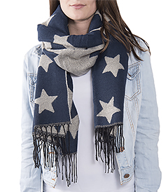 The White Lighthouse Furniture new England Lifestyle for Country and Coastal Living - blue star scarf