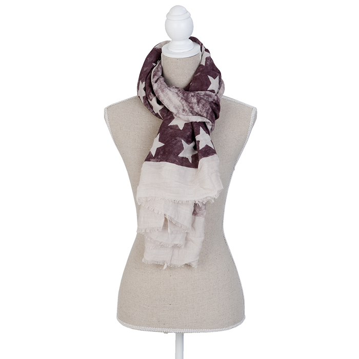 The White Lighthouse Furniture new England Lifestyle for Country and Coastal Living - burgandy scarf
