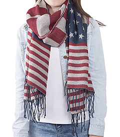 The White Lighthouse Furniture new England Lifestyle for Country and Coastal Living - stars and tripes scarf