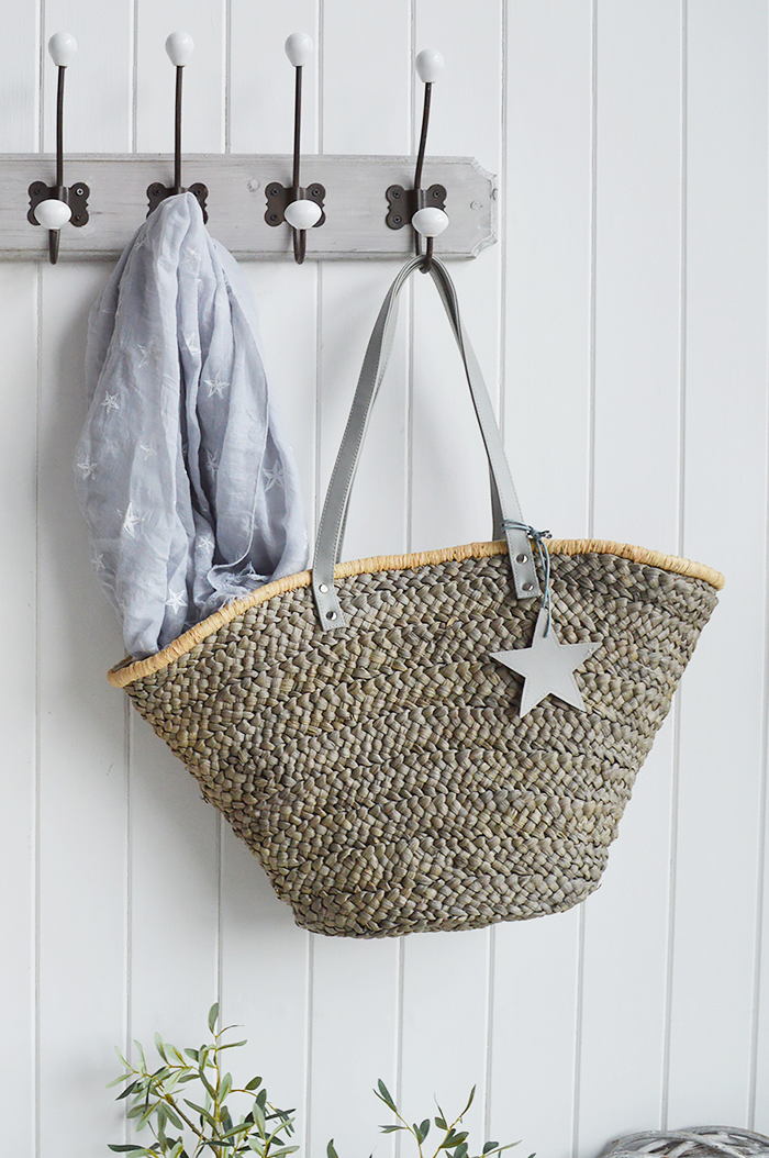 Grey Star Shopper from The White Lighthouse New England Country Coastal White and Nordic furniture