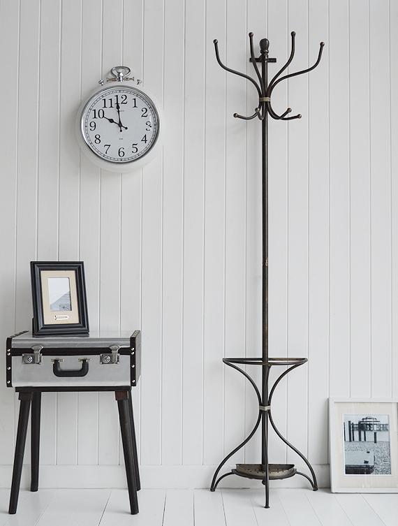 Hall Furniture Coat Stand Rack Hallway Decorating Ideas