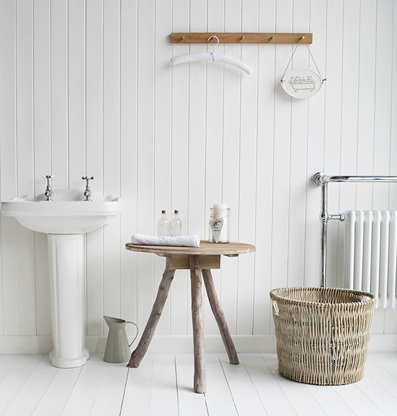 Coastal and New England  furniture for the bathroom