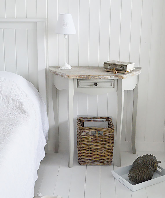 The White Lighthouse offers coastal style bedroom furniture for interiors