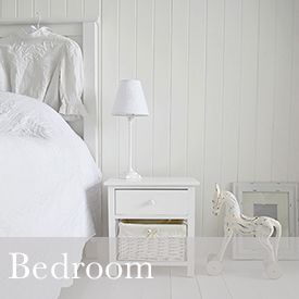 White Bedroom Furniture decorating ideas from The White Lighthouse