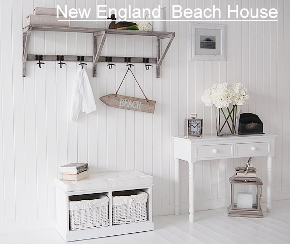 White Beach House Furniture Home Design Ideas And Pictures
