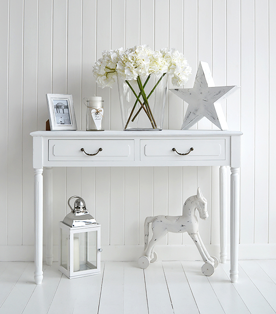 White Furniture And Accessories The White Lighthouse Decorataing Ideas For A White Home White