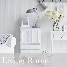 White Living room decorating ideas from The White Lighthouse