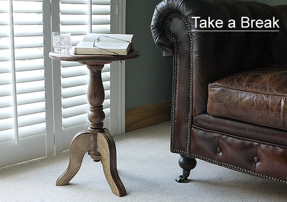 Take a Break, a perfect drinks table