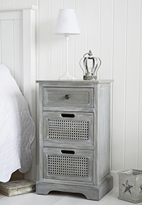 British Colonial grey bedroom furniture